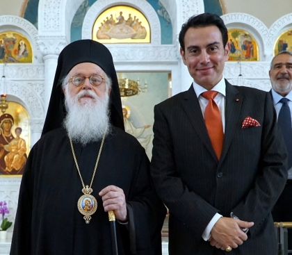 with patriarch