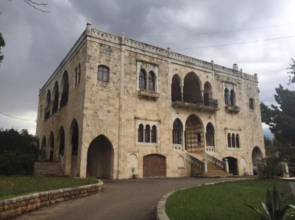 The El Chemor Palace in Lebanon
