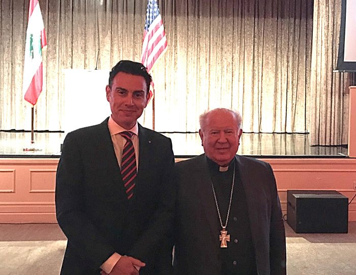 archbishop boutros Mattar maruni